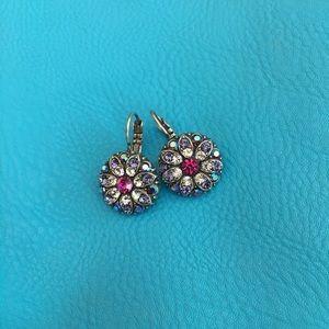 Mariana Flower Blossom earrings